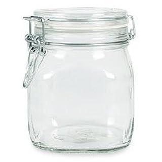 Bormioli Rocco SYNCHKG009319 B0727PL21D Fido Glass Canning Jar Italian.75, Clear (B001AFGHWY) | Amazon price tracker / tracking, Amazon price history charts, Amazon price watches, Amazon price drop alerts