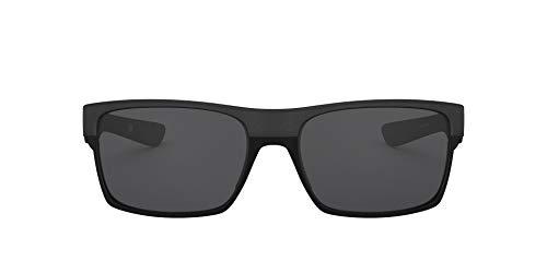 Oakley - Gafas de sol Rectangulares Twoface, Steel/Grey (S3)