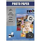 PPD Inkjet 280 g/m2 Super Premium Fotopapier Glänzend Mikroporös DIN A3 Plus x 100 Blatt PPD-17-100