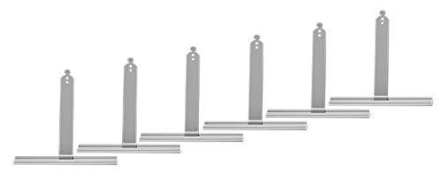 Rollwin 6x Aufhängefeder für Rolladen MINI | Rolladenhalterung Rolladenaufhängung Stahlfeder Befestigungsfeder Stahlbandaufhänger Rolladen Feder