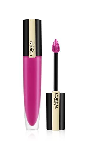 L'Oréal Paris Rouge Signature 106 I Speak Up, ultra-leichter und hochpigmentierter matter Ink-Lippenstift