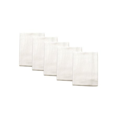 Flour Sacks Solid White Sack Towel 5 Pack 28 X 29 Cotton Polish Sewing Crafts