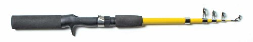 Eagle Claw Pack-IT Telescopic Spincast Rod, 1 Piece (Yellow, 5-Feet...