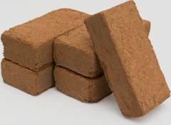 10 x 9L Coir Briquette, Compost Block, Seedlings, Reptile/Snail Bedding Wormcity (10)