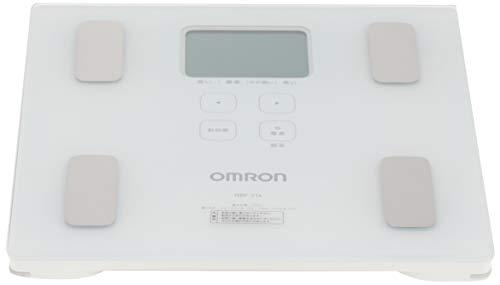 『オムロン 体重・体組成計 カラダスキャン ホワイト HBF-214-W』のトップ画像