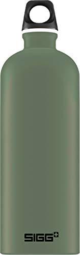 SIGG Unisex– Erwachsene Traveller Leaf Green Wasserflaschen, Grün, 1