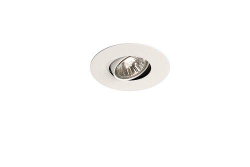 Massive 595503110 intérieur GU10 50 W Blanc Spot de lumière – Spot de lumière (intérieur, encastré, GU10, halogène, blanc chaud, chambre, salon)