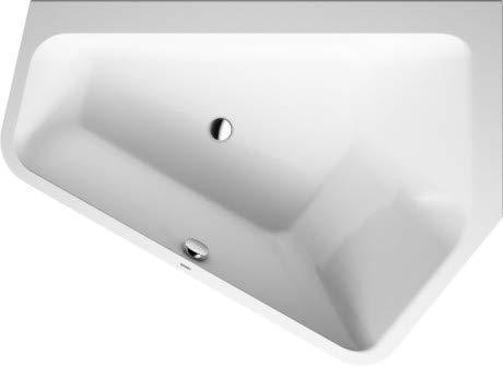 Duravit Badewanne Paiova–51770x 1300mm rechts EinbauLeuchte weiß