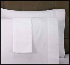 Bertha Hogar Funda de Almohada Blanca 50% algodón Disponible para Cama de 135 y de 150 cm. Ideal para hostelería: Hotel, hostal, pensión.Oferta. (45_x_110_cm) (45_x_155_cm)