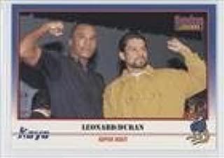 Sugar Ray Leonard; Roberto Duran (Trading Card) 1991 Kayo - [Base] #037