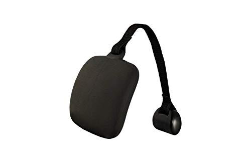 PrimeRelax Whirlpool Nackenkissen, Kopfstütze, Nackenstütze, universell einsetzbar, höhenverstellbares Badewannenkissen mit Gurt und Gegengewicht