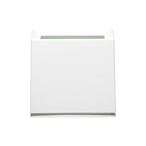 ideaco (イデアコ) ゴミ箱 フタなし TUBELOR BRICK matt(チューブラー ブリック マット) ホワイト W315xD14...