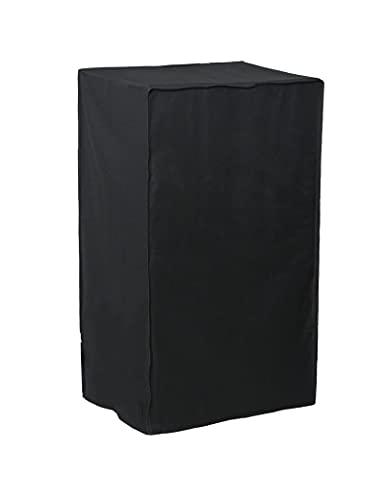 SHDBHD Funda Barbacoa Grande Impermeable, Apta para barbacoas rectangulares, Negro, 68×68×72/120cm