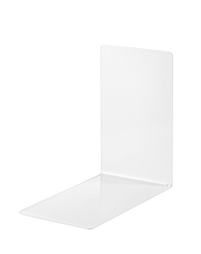 Alco-Albert 4301-10 podpórki do książek, 2 sztuki, białe