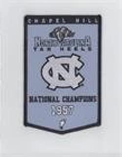 1957 National Champions (Basketball Card) 2010-11 UD North Carolina Basketball - Championship Banner Patches #NoN