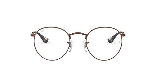 Ray-Ban RX3447V - Marco redondo de metal para gafas