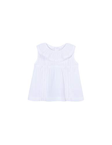 Gocco blouse, geborduurd, voor baby's