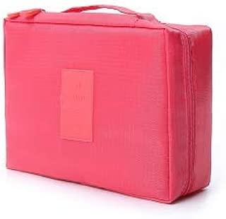 MONZÓ, Neceser, Cosmetiquera para Viaje, Make Up Travel Boxes (PINK)