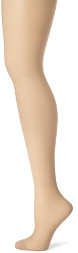 Silk Reflections Silky Sheer Control Top RT Size:CD Color:Nude