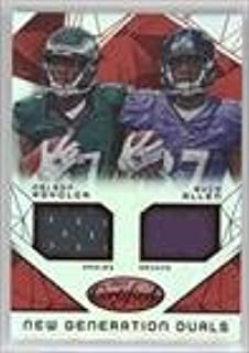 Buck Allen; Nelson Agholor #209/249 (Football Card) 2015 Panini Certified - New Generation Dual Jerseys - Mirror Red #NG-USC