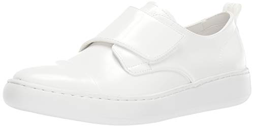 Calvin Klein Men's FILIUS Shoe, White Box Leather, 8.5 M US