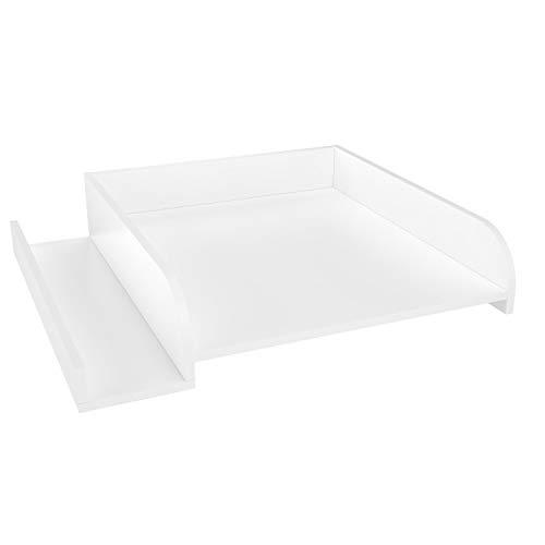 Polini Wickelaufsatz für Waschmaschine mit Fach weiß 63.2 x 15 x 71.6 cm