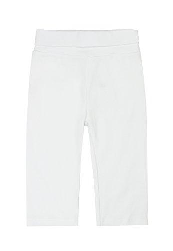 Steiff - Pantalon - Mixte Bébé - Blanc (1000) - FR : 18 mois (Taille fabricant : 86)