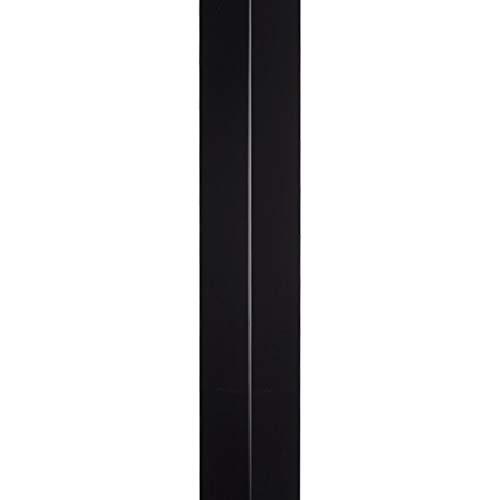 Cornière 90 ° Aluminium Noir - 2ML - Extérieur 50 X 50 mm