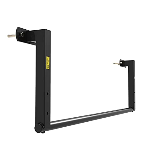 Pull Up Bars Heavy-duty Horizontal Bar, Wall-mounted Pull-up Bar, Home Indoor And Outdoor Sports Muscle Strength Training Equipment, Easy To Install (Color : Steel, Size : Straight rod)