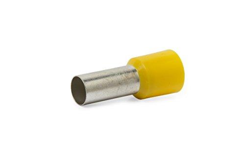 Aderendhülsen 6,0N isoliert 6,00mm² x 12mm gelb , 100 Stück