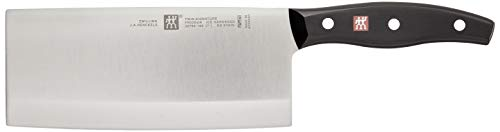 ZWILLING J.A. Henckels TWIN Signature Chinese Chef's Knife/Vegetable Cleaver, 7', Black/Stainless...