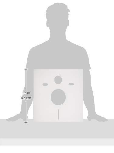 Cornat SSWWC Schallschutz-Set für Wand-WC und Wand-Bidet - 4