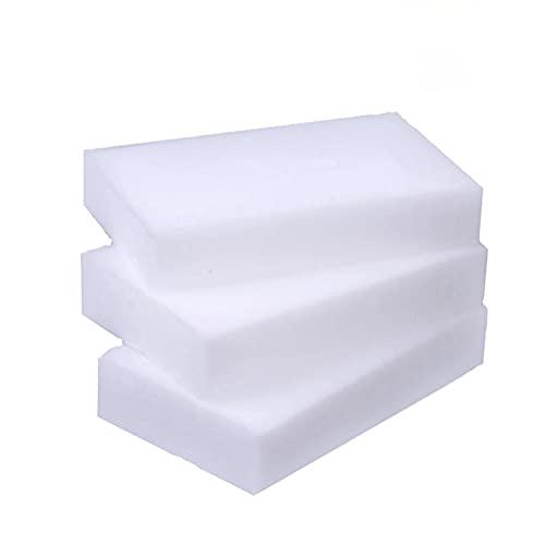 Magic Cleaning Sponges Eraser, 100 Pack Dish Sponges, Household Cleaner Non-Scratch Scrub Sponge for Kitchen, Bathtub,Furniture,Shoe,Car Wash