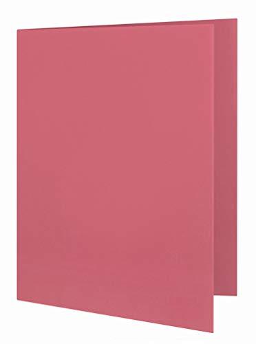 ELBA Aktendeckel Smart Line, Karton, rot, 100er Pack