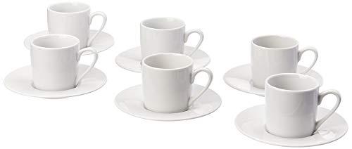 Jogo Xicara De Cafe 90ml 12pcs Haüskraft Jogo Xicara De Cafe 90ml 12pcs Branco No Voltagev