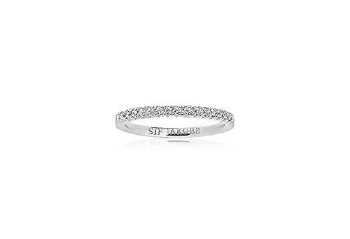 Sif Jakobs Ring Ellera mit weißen Zirkonia