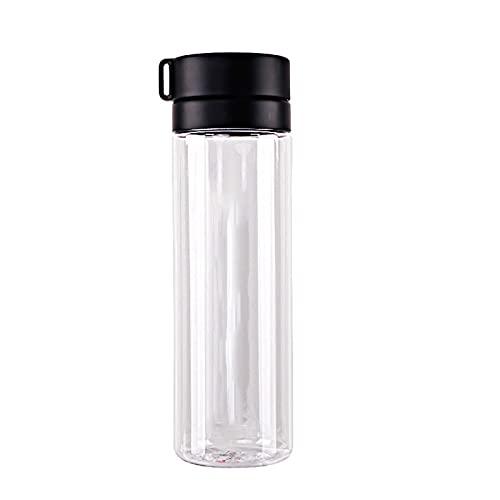 LPWCAWL Taza de Agua plástica de Gran Capacidad de 800 ml para Hombres y Mujeres Parejas portátil Deportes Taza de Agua al Aire Libre Botella de Agua,C