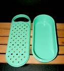 Vintage Tupperware 2 Piece Cheese Grater/shredder