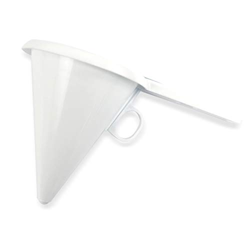 Lautechco Adjustable Chocolate Funnel for Baking Cake Decorating Tools Easy Operating Cake Funnel