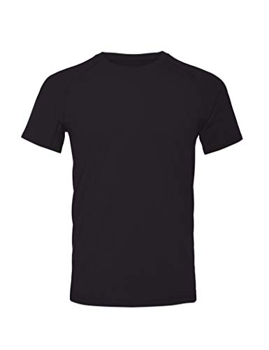 CARE OF by PUMA T-Shirt da allenamento, Nero (Black), M, Label: M