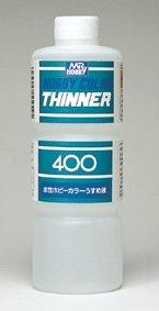 GSIクレオス Mr.HOBBY 水性ホビーカラー専用うすめ液 水性ホビーカラーうすめ液(特大) 400ml入り