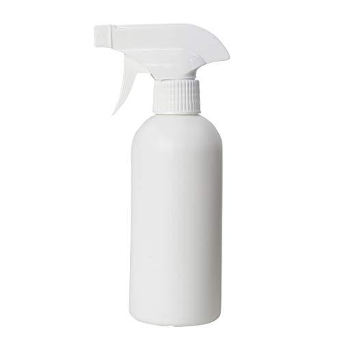 スプレーボトル 詰替えボトル アルコール対応 遮光 次亜塩素酸水対応 300ml [ホワイト] (10)
