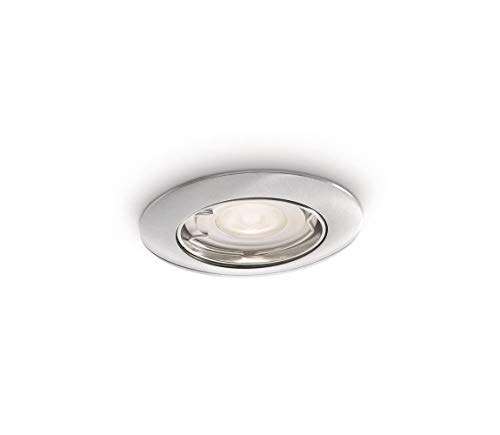 Philips Recessed spot light GU10 LED Mount– Nickel Chrome
