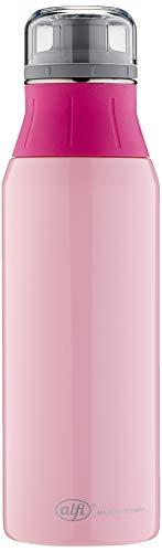 alfi Trinkflasche Edelstahl 900ml, elementBottle Pure pink, 5357.130.090 Wasserflasche auslaufsicher, spülmaschinenfest, BPA-Frei für Schule, Sport, Stadtbummel, Freizeit