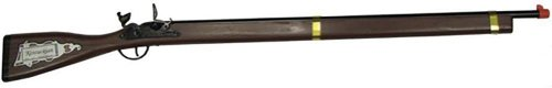 Kentucky Rifle Full Size, Wood & Steel Frontier Rifle Designed After The Original Rifle