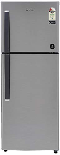 Whirlpool 245 L 2 Star Frost-Free Double Door Refrigerator (NEOFRESH 258LH CLS PLUS 2S, German Steel)