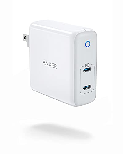 USB C Charger, Anker 60W 2-Port PowerPort Atom PD [GAN Tech] Foldable Wall Charger, Power Delivery for MacBook Pro/Air, iPad Pro, iPhone 12/11 / Pro/Ma x/XR/XS/X, Pixel, Galaxy, and More
