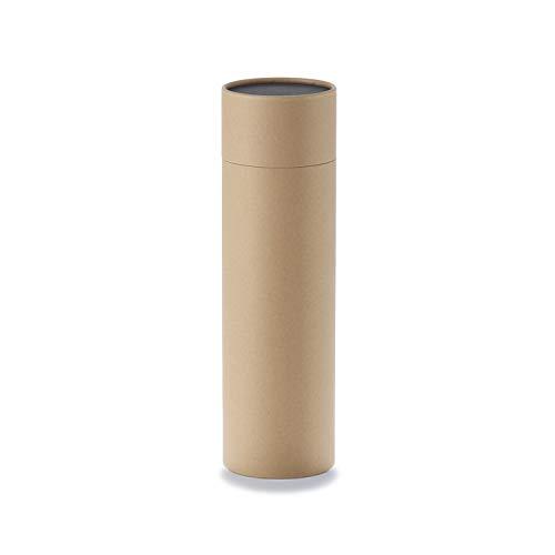 Caja de cartón Betubed para botellas de vino, color: craft, diámetro 86 mm, altura 315 mm, libre de plástico y sostenible.