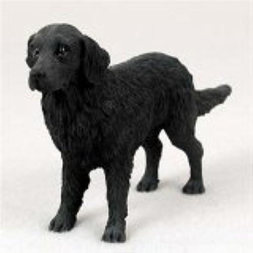 entrega rápida Flat-Coated Retriever Original Dog Figurine (4in-5in) by Conversation Conversation Conversation Concepts  barato en alta calidad
