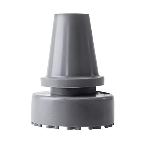 ROSENICE Bastones antideslizantes para pies Accesorios para muletas de hule 19 mm de diámetro interior